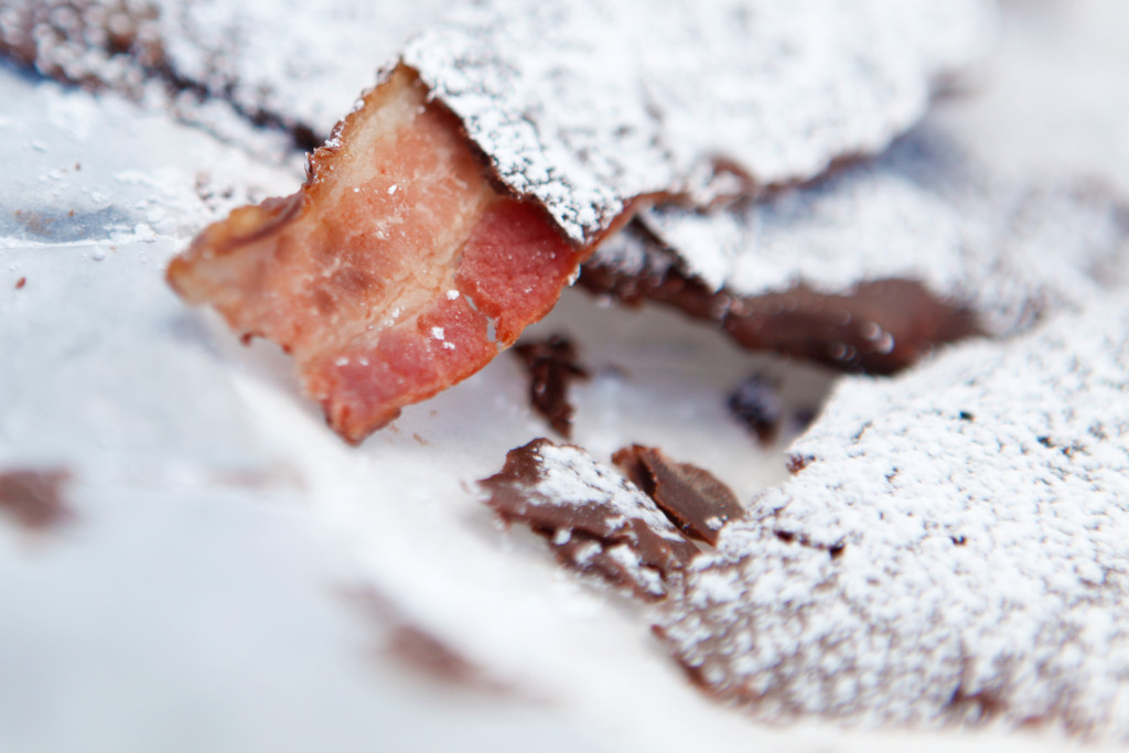 South Carolina State Fair  (chocolate covered bacon) Columbia, SC