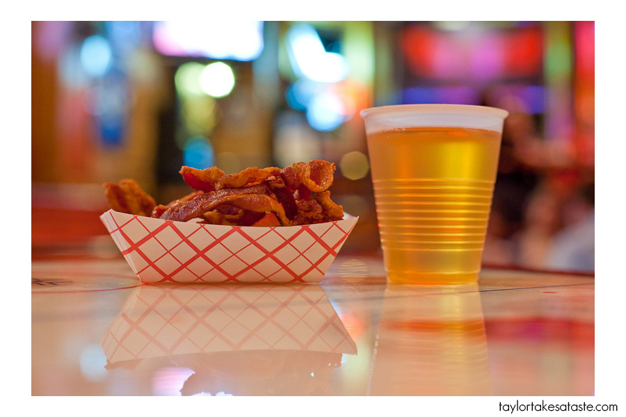 Beer and Bacon? It must be Tuesday at Wando's  Madison,WI