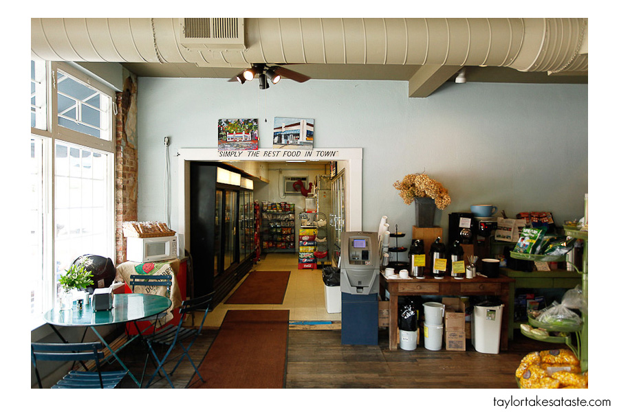 Upon Entering Merrittu0027s You Will Notice This Is Not Your Typical Corner  Store. The Worn Wood Floors And Carolina Blue Plaster Walls Show That This  Building ...