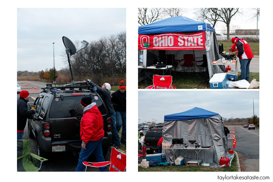 I have seen tents at almost all of the tailgates I have been to but at Ohio State the tents had a slight modification. To combat the wind chill ...  sc 1 st  Taylor Takes a Taste & Tailgating at Ohio State in Columbus OH