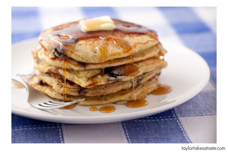 National Blueberry Pancake Day!