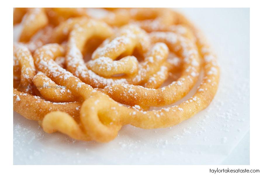Texas state fair funnel cake recipe