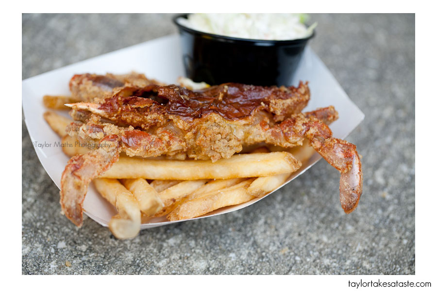 Soft Shell Crab Festival and a book giveaway!
