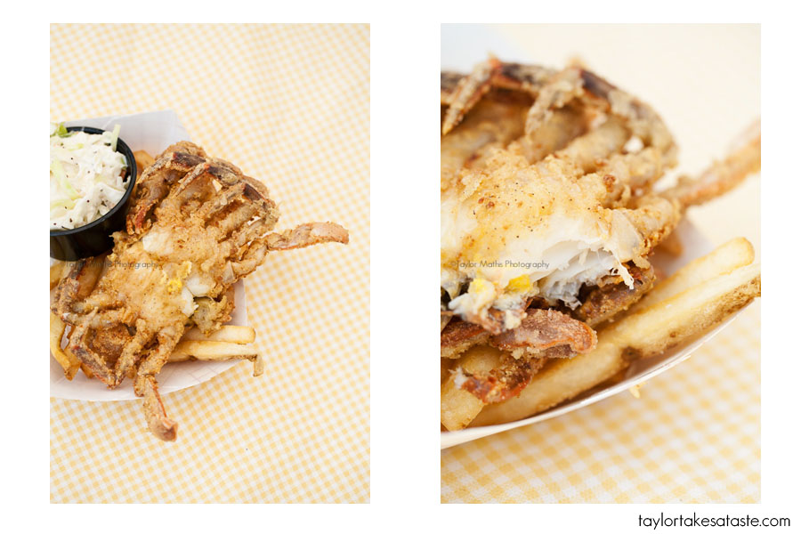 how to eat a whole soft shell crab