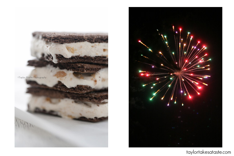 Fireworks and Ice Cream Sandwiches!