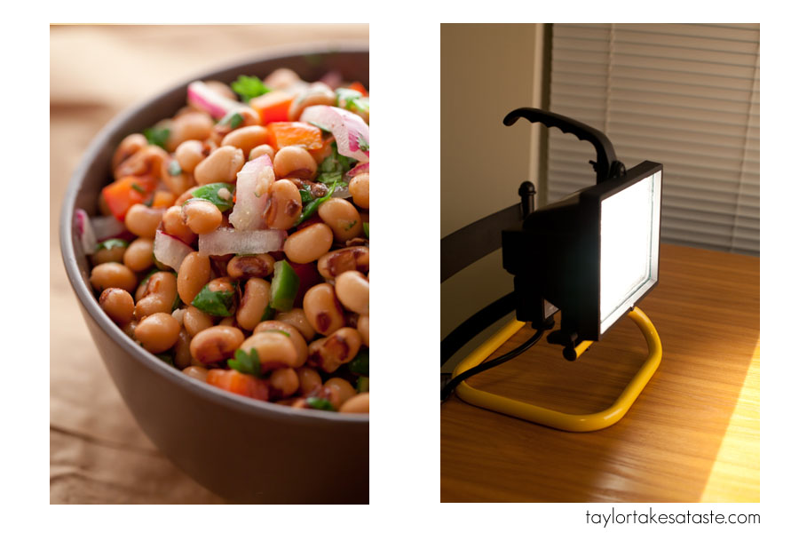 & The $15 Food Photography Lighting Set Up