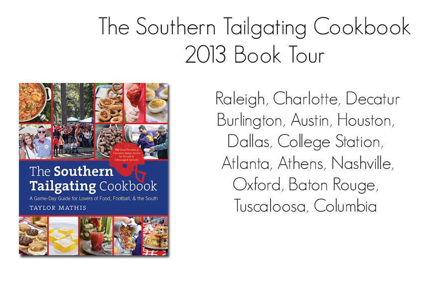 The Southern Tailgating Cookbook Book Tour