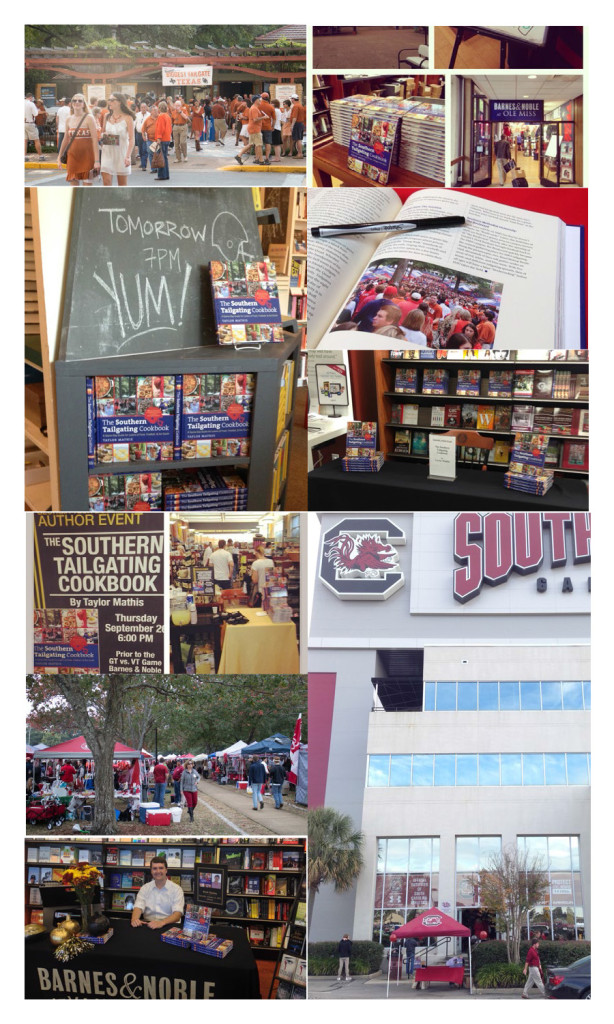 Recap of The Southern Tailgating Cookbook Book Tour!