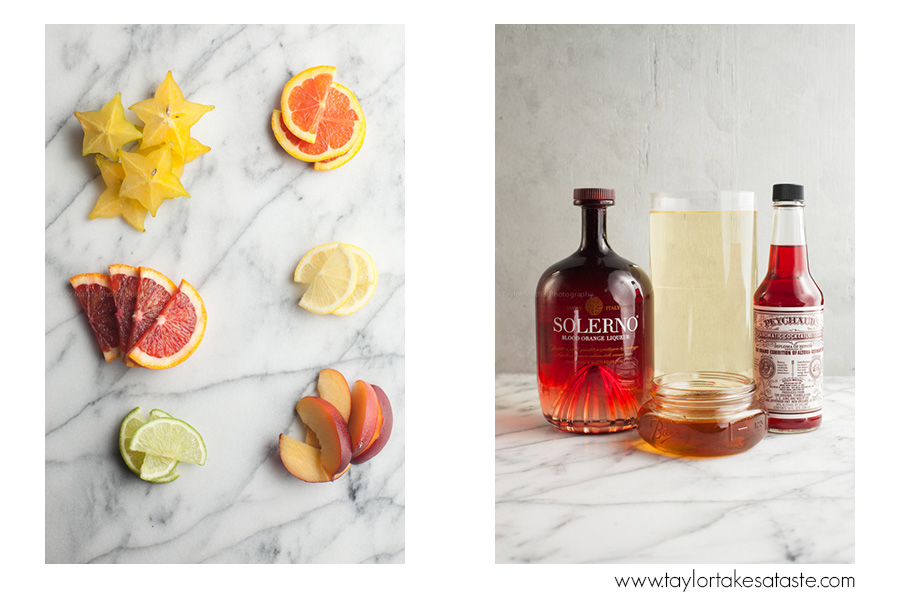 blood orange white sangria ingredients
