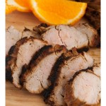 Grilled Tangelo Teriyaki  Pork Tenderloin