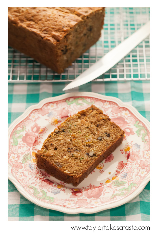Zucchini Carrot Tea Bread