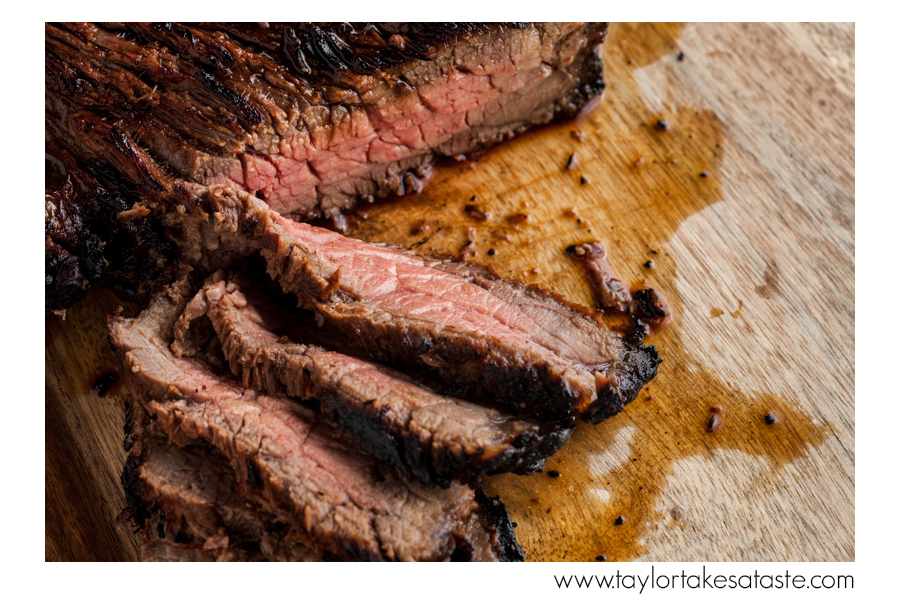 Garlic Tabasco London Broil