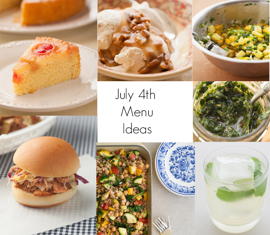 July 4th Recipe Ideas