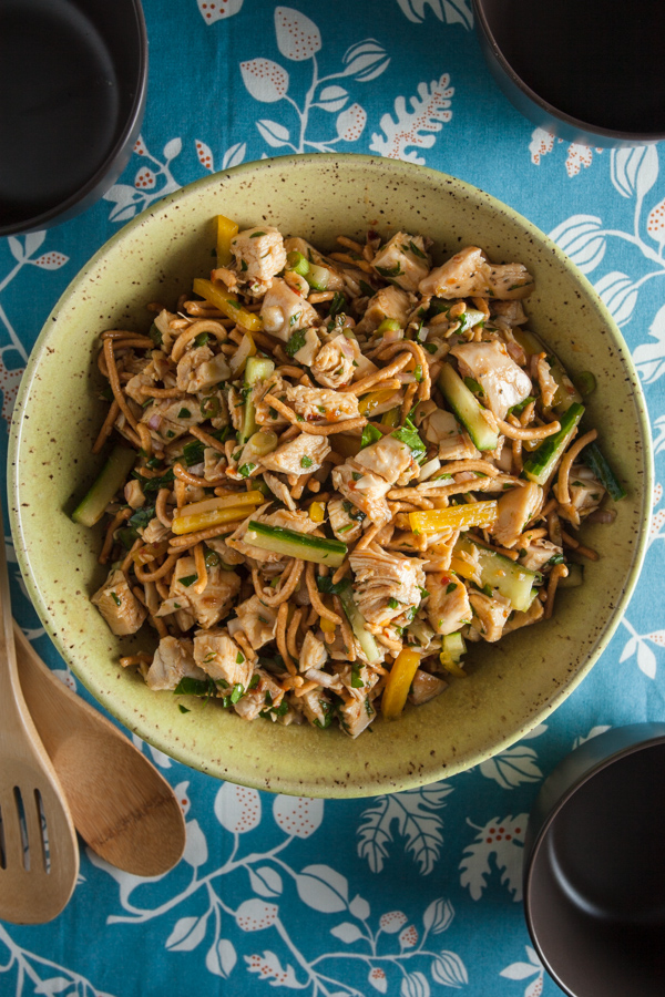 Hoisin Ginger Lime Chicken Salad