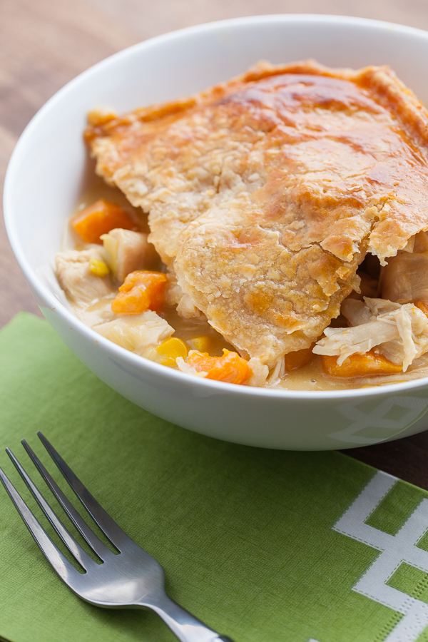 Deep Dish Chicken Pot Pie -